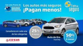Seguros Rivadavia relanza su promoción para  los autos más seguros