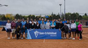 San Cristóbal organiza una clínica de Tenis exclusiva para Productores de Seguros