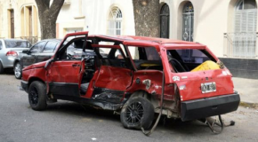 CHOQUE Y MUERTE: LAS TERRIBLES IMÁGENES DE UNA PICADA FATAL EN ROSARIO