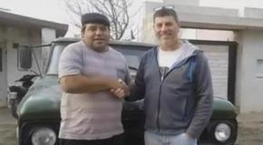 Córdoba: rifó su camioneta para pagar la operación de su esposa y el ganador le devolvió el premio