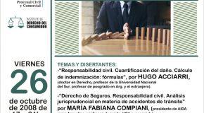 JORNADA SOBRE RESPONSABILIDAD CIVIL Y SEGUROS – SAN JUAN – 26 DE OCTUBRE