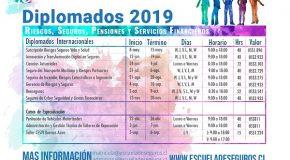 DIPLOMATURAS 2019 EN ESCUELA DE SEGUROS DE CHILE