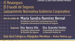 JORNADA DE DERECHO DE SEGUROS – 14 DE MAYO – MENDOZA