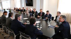 Macri recibió a los principales líderes mundiales de la industria del Seguro