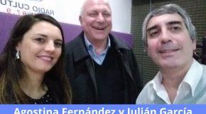 Julián García, Director Ejecutivo de ADIRA, y Agostina Fernández, de SysOne, en El Seguro y la Prevención, por Radio Cultura