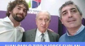 Jorge Furlan (Prudencia Seguros), y Juan Pablo Tito (ClickSeguros y miembro de la Cámara de Insurtech).
