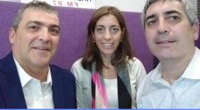 Guillermo Bolado, Abogado, ex Vicesuperintendente de Seguros de la Nación, y Virginia Marinsalta, Gerente de Asegurados de AlbaCaución,  en El Seguro y la Prevención, por Radio Cultura.