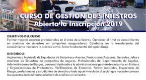 AALPS – Curso de Gestión de Siniestros / PRE INSCRIPCION / INICIO FEBRERO 2020