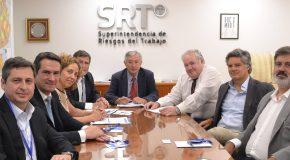 Representantes de la SRT y la UART analizaron la actualidad del sistema de riesgos del trabajo