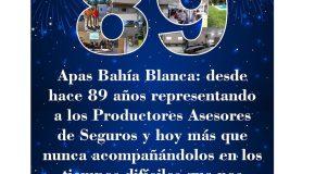 ¡Feliz 89 APAS Bahía Blanca!