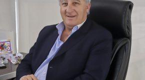 Alberto Grimaldi, Director Ejecutivo del Grupo Asegurador La Segunda. Luego, Susana Larese, Directora de Stanton Chase International