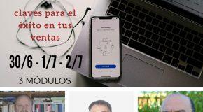 """Curso online """"Vida y Retiro post pandemia – Claves para el exito en tus ventas""""."""