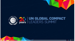 RUS participó del 20º aniversario del Pacto Mundial de las Naciones Unidas
