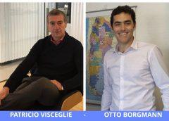 Patricio Visceglie, CEO de Boston, y Otto Borgmann, Director Comercial de Clipper Life.